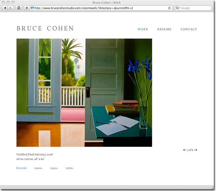 Bruce Cohen Website